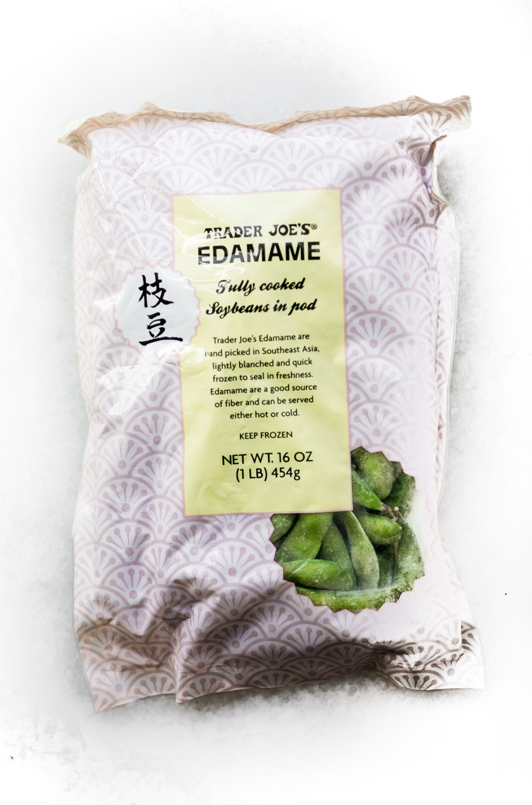 Trader Joe's Frozen Edamame Beans in the shell