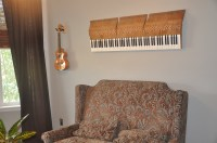 Piano Wall Art   the view from my studio