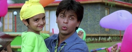 Shah Rukh with that kid