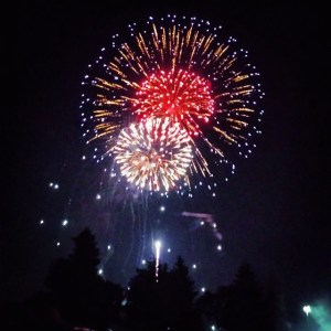 Cloud Park Fireworks 2014