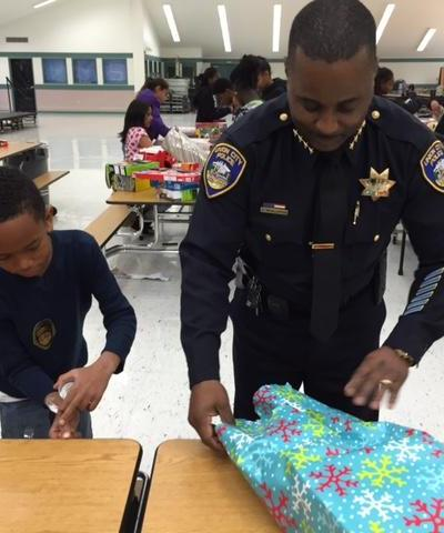 Gift Wrapping with Chief McAllister