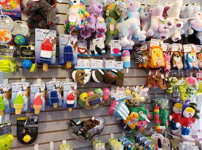 Dog Toys, Clothing, Strollers, Treats