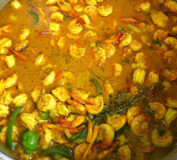 Succulent Shrimp a'Stewin