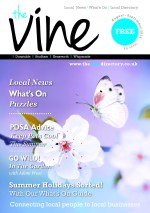 The Vine Dunstable - August September 2018 - Issue 84 COVER