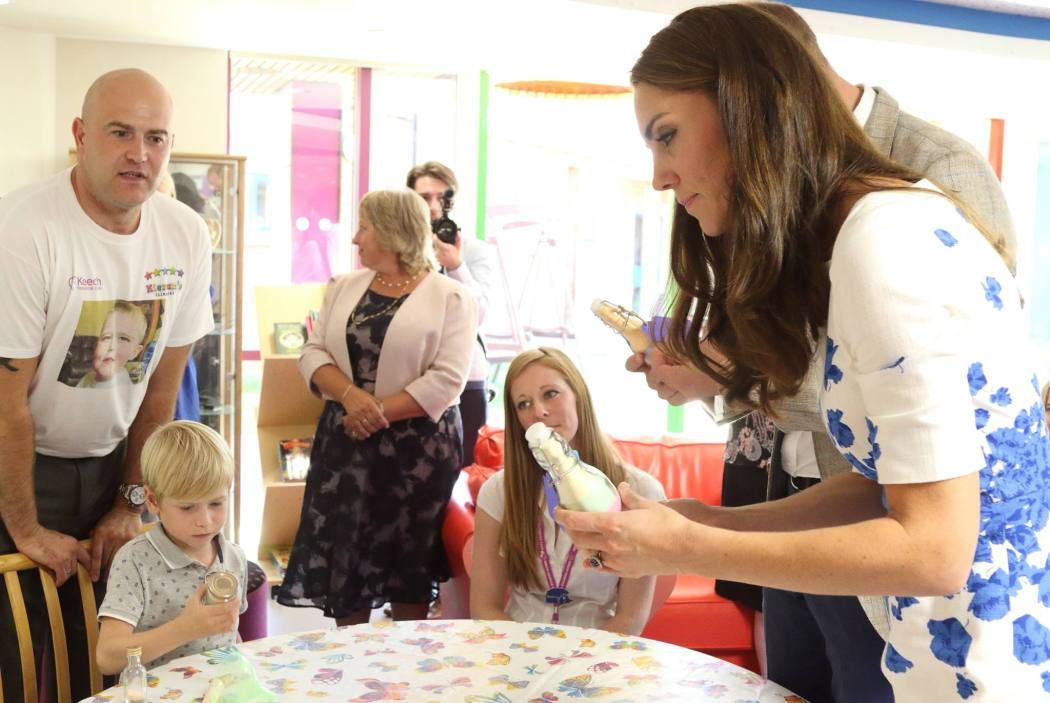 The Duke and Duchess Of Cambridge Visit Keech. Luton, Bedfordshire, Hertfordshire.