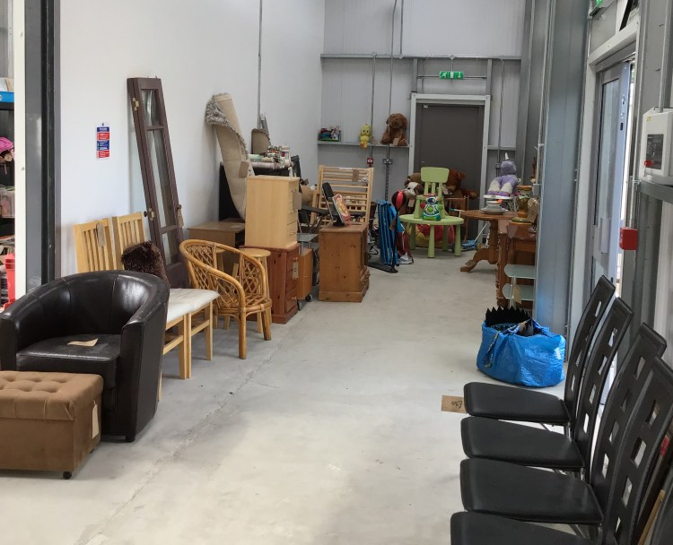 Reuse Shop Open At Dunstable Household Waste Recycling Centre
