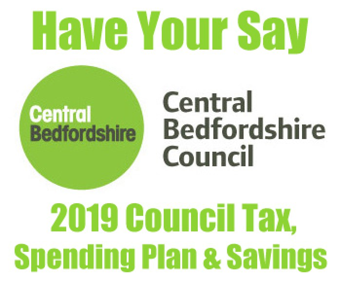 Have Your Say On Central Bedfordshire Council Spending Plans, Savings And Council Tax