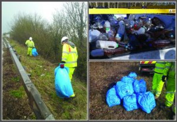Bedfordshire Drivers Urged To Clean Up Their Act As Part Of National Litter Campaign