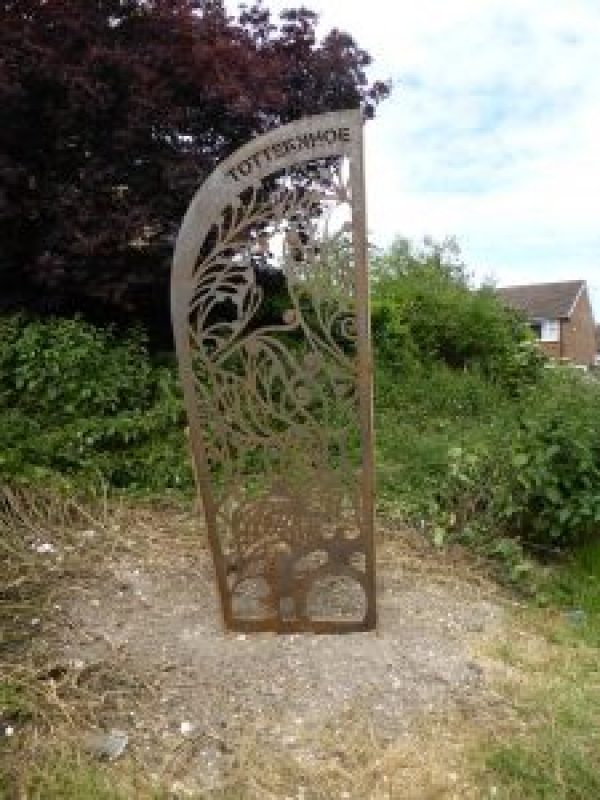 "Central Bedfordshire Council, with the support of Sustrans, has installed two attractive bespoke pieces of artwork on national cycling routes in locations close to Dunstable and Luton Airport.   The artwork is made from laser-cut steel, and has been designed to highlight the routes and provide attractive and prominent formal entrances which will encourage more walkers and cyclists to use the routes.  In creating the unique designs, the artist, Stephen Pardue from interpretation specialists Differentia, took inspiration from local landscapes, wildlife and the history of the sites.  The Totternhoe Green Lanes artwork is close to Dunstable on Sustrans National Cycle Route 574, at the start of the green lanes on Tring Road. These ancient green lanes allow residents fantastic access to the local countryside. The gateway is designed to attract and welcome residents, while also discouraging vehicles from parking across the path entrance.  The Upper Lea Valley Way route artwork is alongside Sustrans National Cycle Route 6, close to Luton Parkway Station and airport. The gateway has been designed to encourage more people to use the cycle route, and make it more visible.  The project, funded through Central Bedfordshire Council's lottery grant in partnership with Luton Borough Council, is the last element of the Luton-Harpenden cycleway project.  Councillor Kevin Collins, Executive Member for Planning and Regeneration at Central Bedfordshire Council, said: ""The finished pieces are unique and attractive, and feature the wildlife and history of the area. They are designed to encourage the public to use these fantastic cycle routes, and enjoy the beautiful rural scenery that Central Bedfordshire has to offer.""  For more information on the National Cycle Network, visit: www.sustrans.org.uk."
