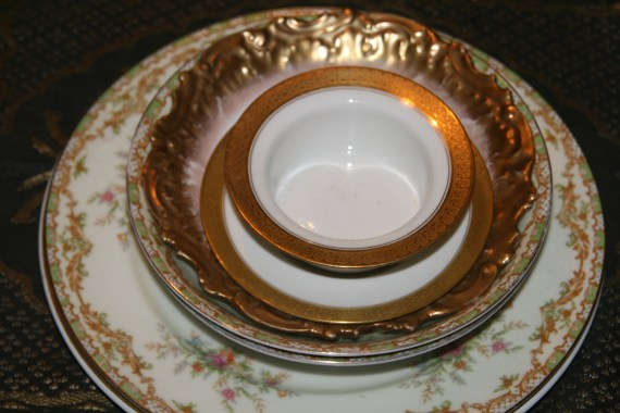 Mis matched china