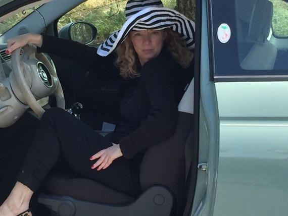 THE MUSE in the FIAT 500