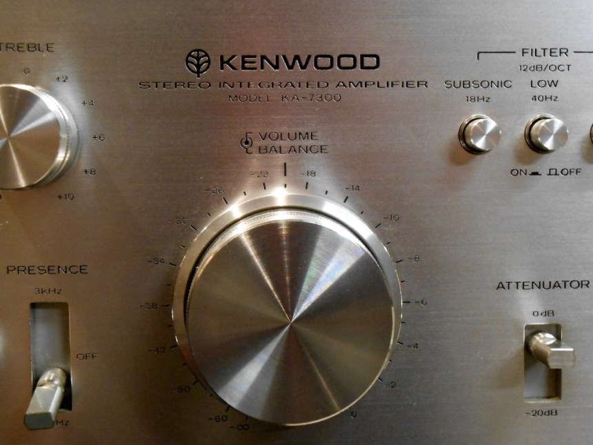 1976 Kenwood KA-7300 – Dual Power Darlington Direct Coupled