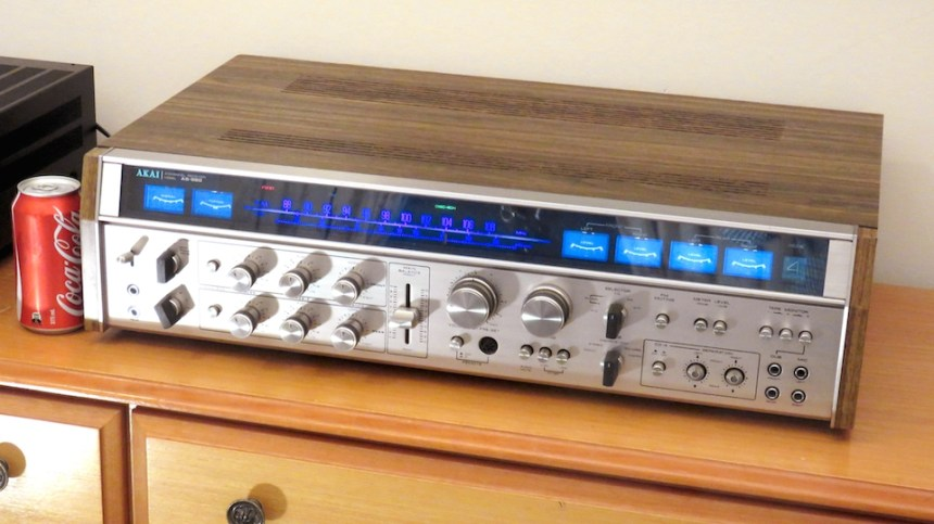 1973 AKAI AS-980 – High End Quadraphonic Receiver | The