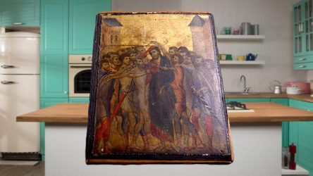 Woman Finds Medieval Artwork while Cleaning Kitchen Sells for $26 MILLION