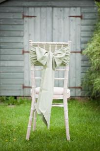Sage Green polka dot sashes by The Vintage Sash Company