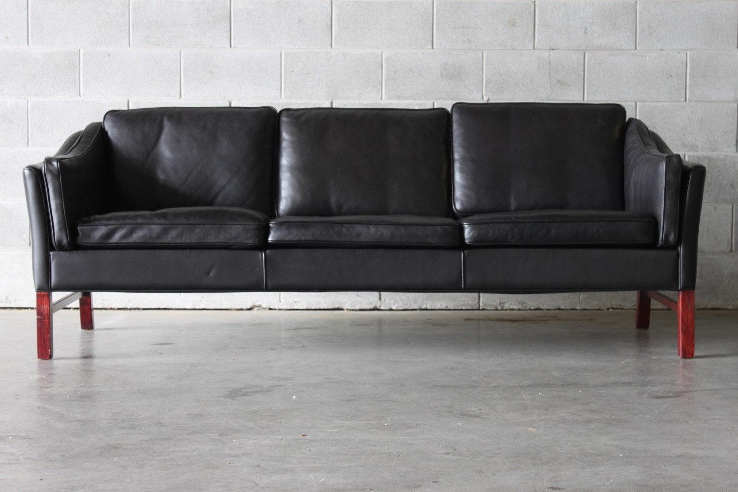 leather sofas auckland diy sofa table with charging station pair of black the vintage shop