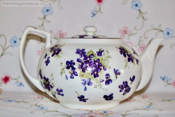 Hammersley Victorian Violets Teapot