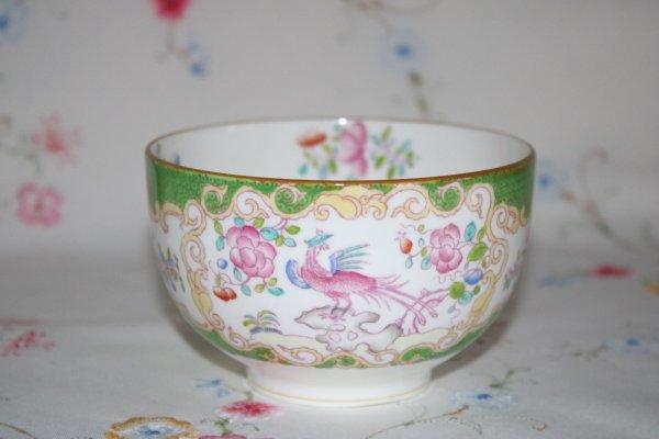 Minton Cockatrice Sugar Bowl