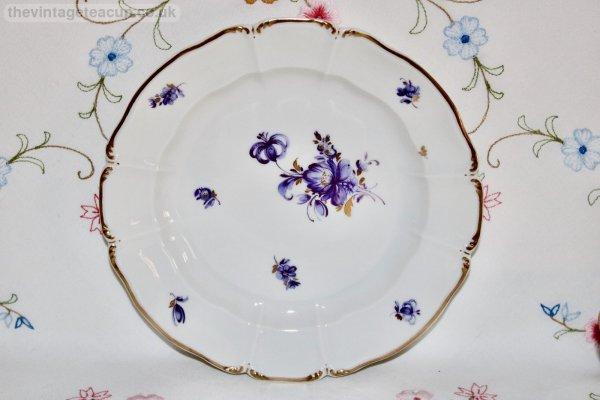 Nymphenburg Lilac Floral Trio