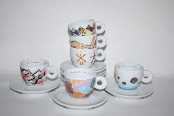 Richard Ginori Espresso set Illy Collection