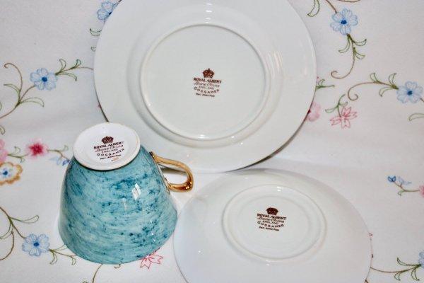 Royal Albert Blue Trio