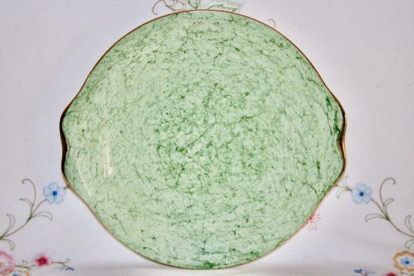 Royal Albert Green Plate