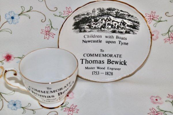 Royal Tuscan Duo Commemorative Tea cup