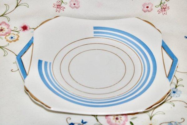Shelley Art Deco Plate