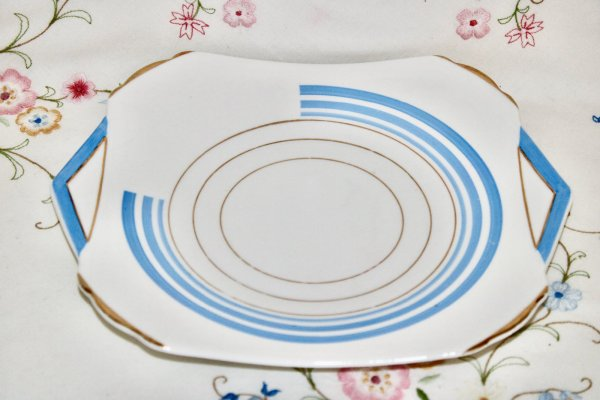 Shelley Art Deco Plate