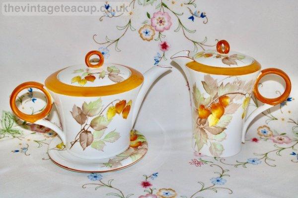 Shelley Cape Gooseberry Teapot