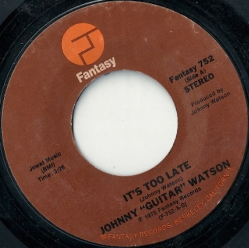 """I wanna ta ta you, oh, it's so nice having you, baby, yes it is Original Gangster of Love: 10 essential Johnny """"Guitar ..."""