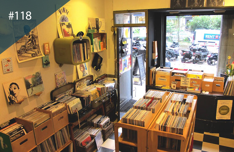 Spots to Visit in Paris, France: The world's best record shops #118: Balades Sonores, Paris