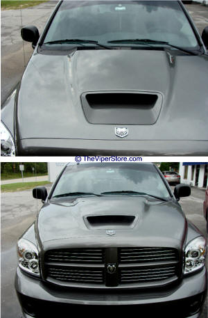 Srt10 Ram Hood : srt10, Dodge, SRT10, 2004-2006, Emblems, Parts