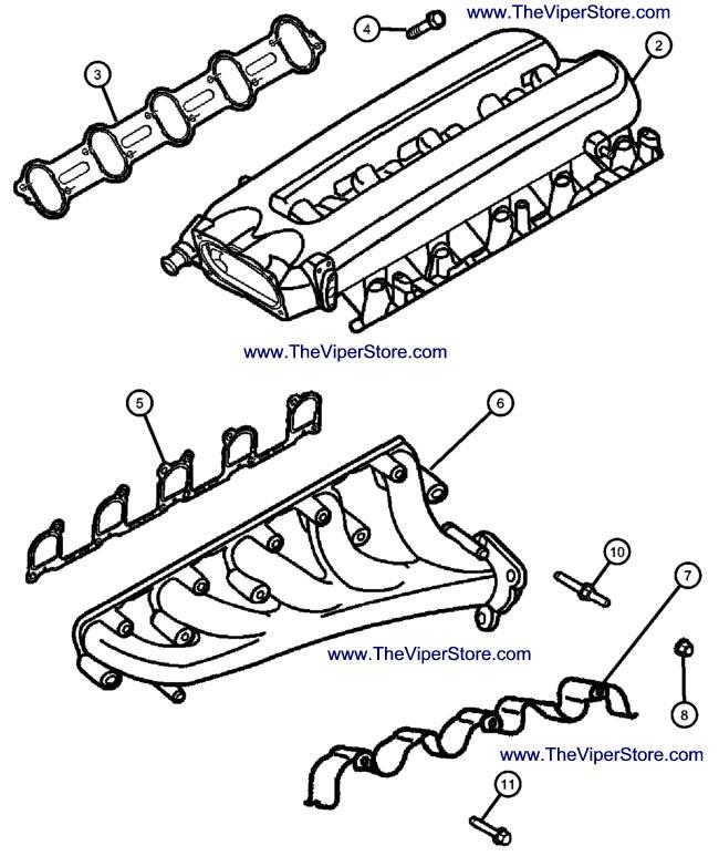 Intake Exhaust Manifold Diagram, Intake, Free Engine Image