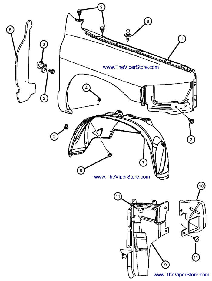 Service manual [Diagram How To Install Front Fender Of