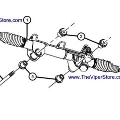 Dodge Truck Parts Diagram How To Draw System Flow Ram Srt10 2004 2006 Factory Diagrams Rack Pinion Power Steering Gear