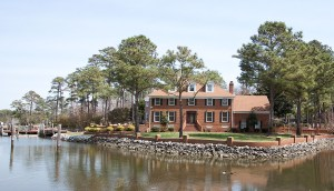 Waterfront Home for Sale in Birdneck Point