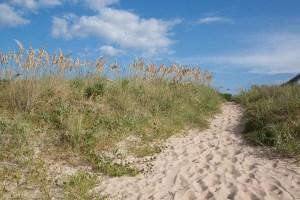 Cape Story sand dunes