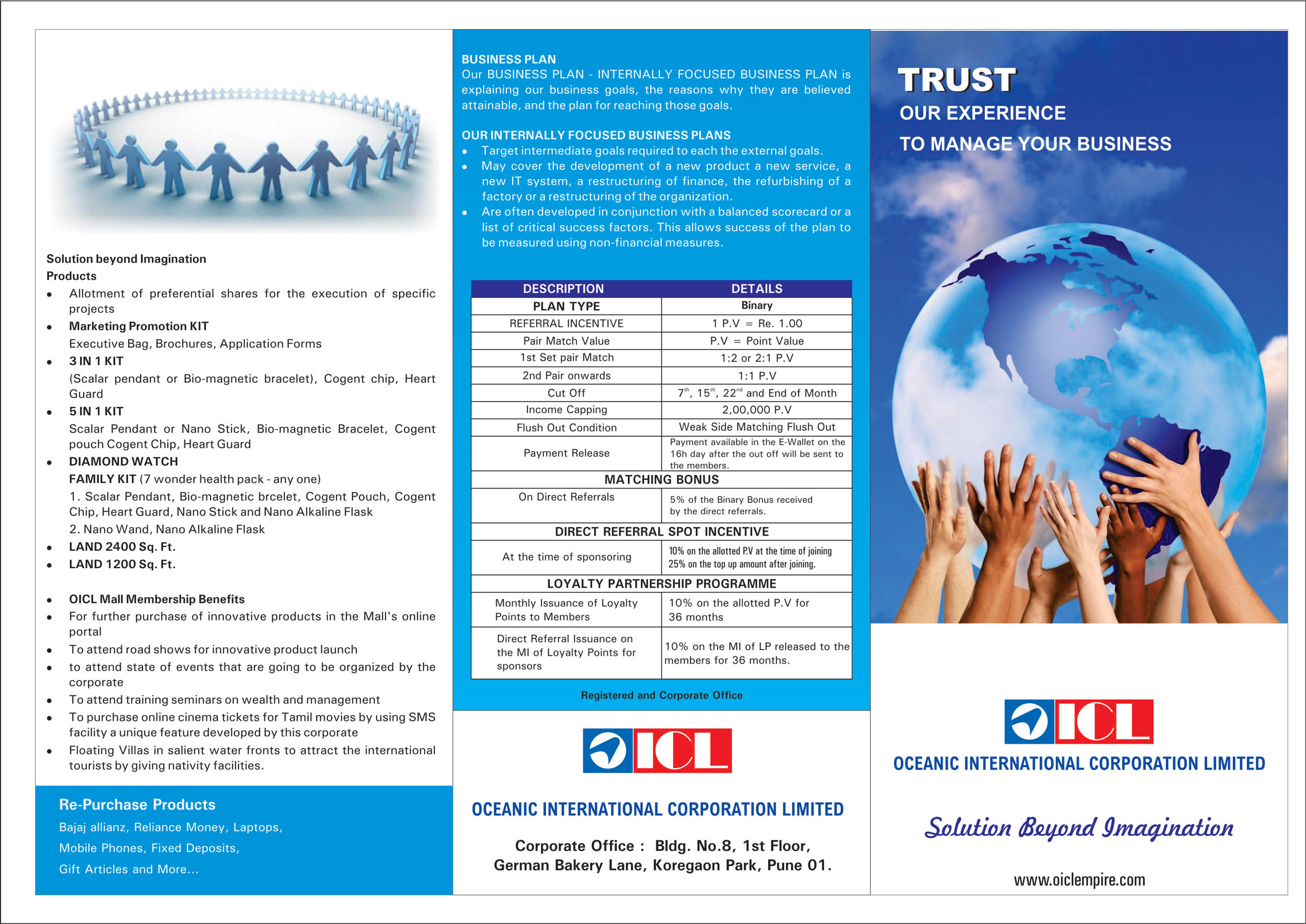 brochure-oceanic-international-corporation-oicl-business-graphic-design-front
