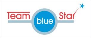 team-blue-star-logo-graphic-design