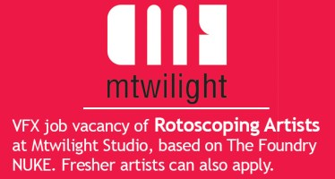 Mtwilight studio rotoscoping job requirement