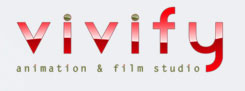 vivifty animation & vfx studio logo
