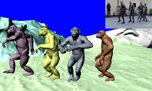 3d chimps coldplay