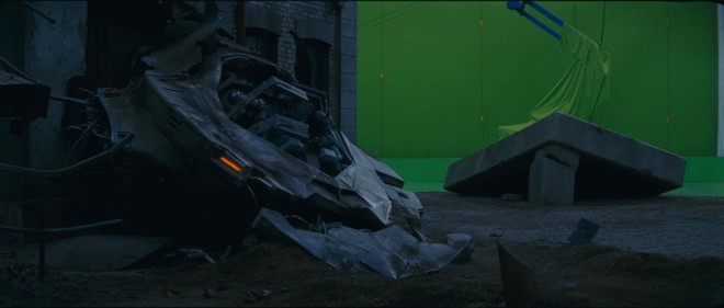 green chroma vfx shooting