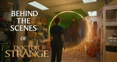 behind the scenes of doctor strange