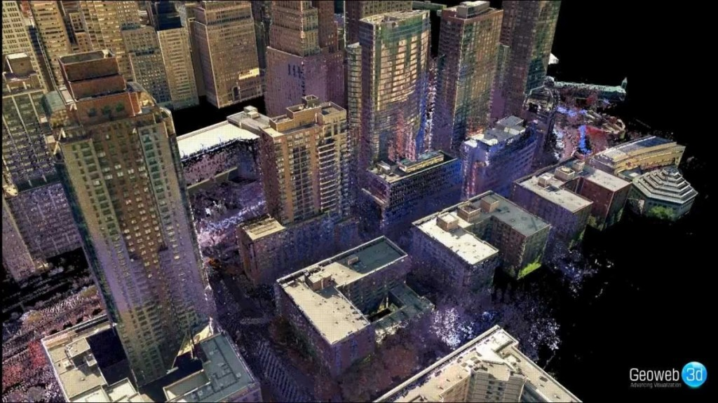 lidar new york city 3d