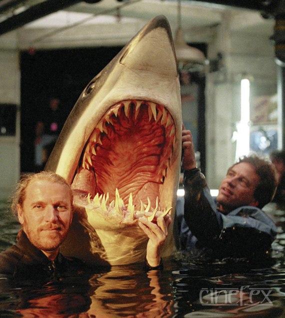 shark prosthetics deep blue sea