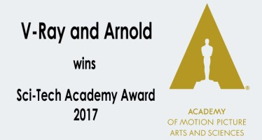 v ray and arnold wins academy award