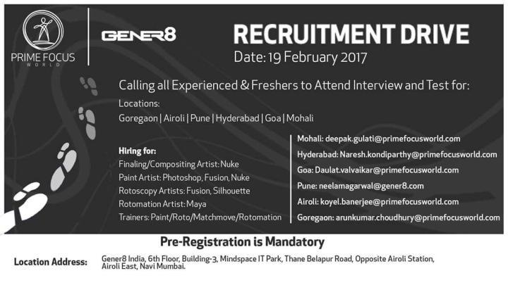 gener8 recruitment drive