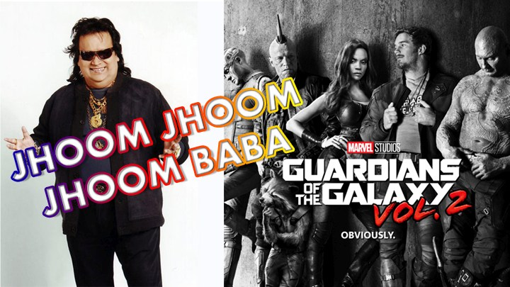 Bappi Lahiri song in Guardians of the Galaxy 2